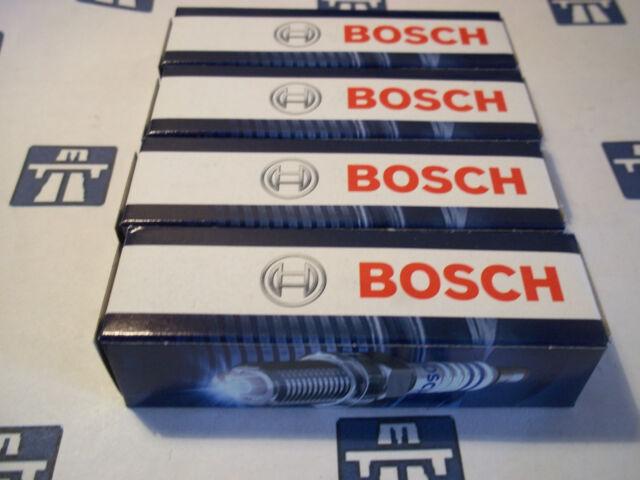 4 x BOSCH FR7DC+ SPARK PLUGS Peugeot 106, 205, 306, 309, 406, Partner, Boxer +8