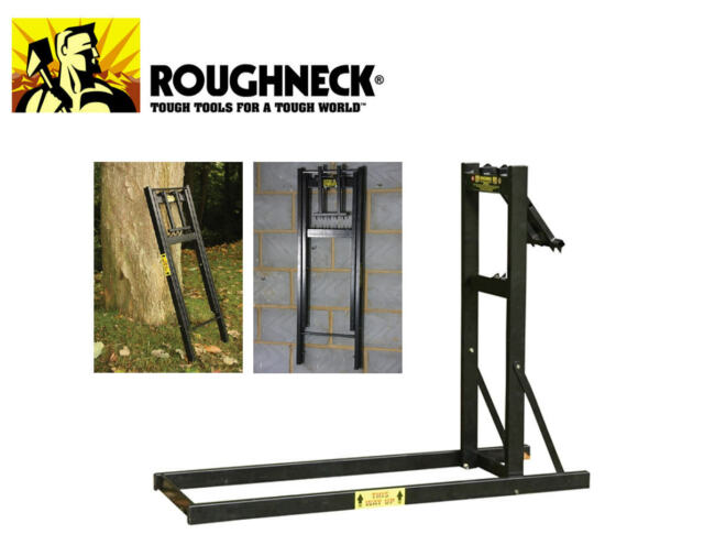 Roughneck Loggers Mate Chainsaw Log Wood Folding Saw Horse Smart Holder ROU65690