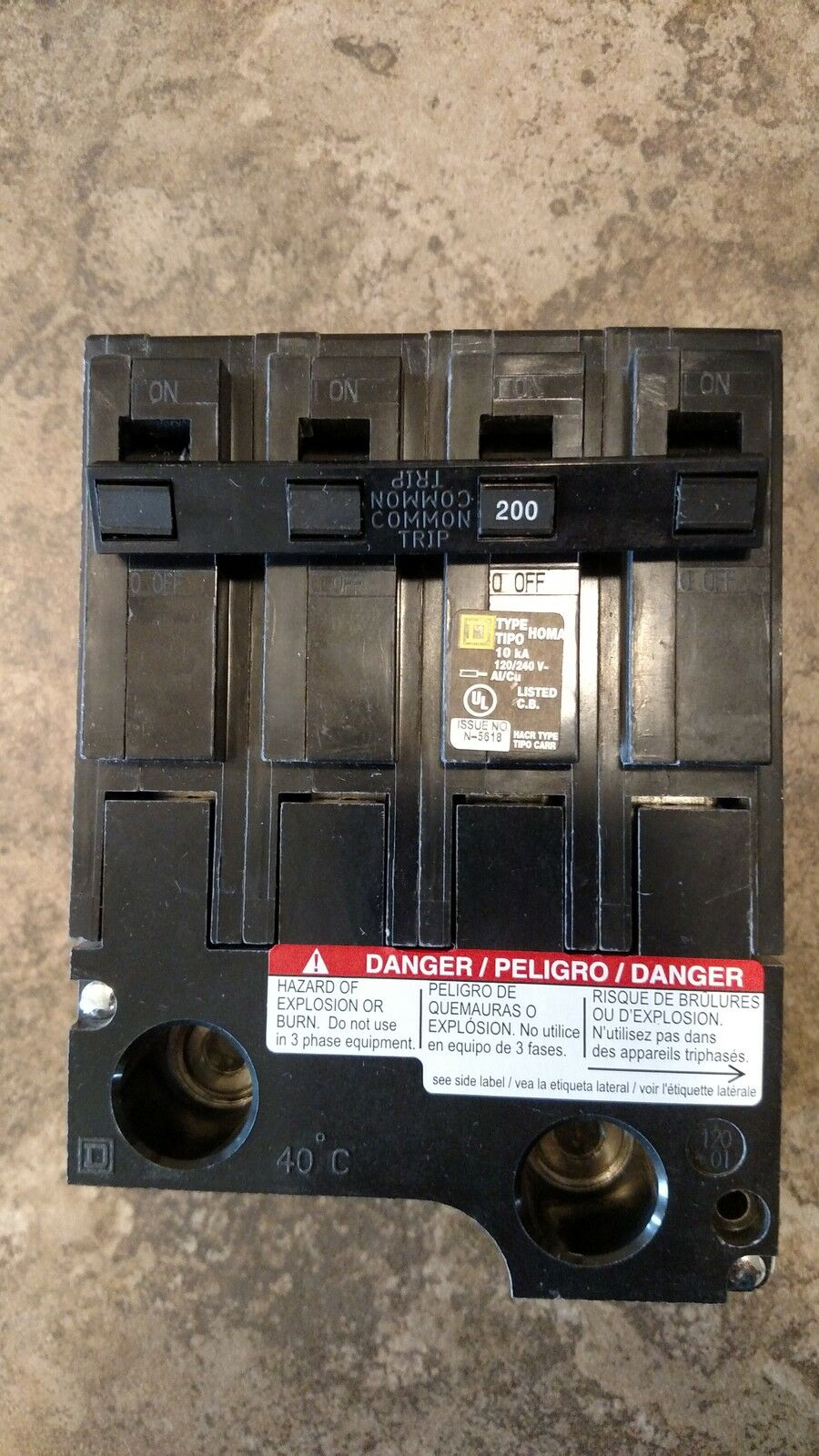 s l1600 square d other industrial circuit breakers ebay  at edmiracle.co