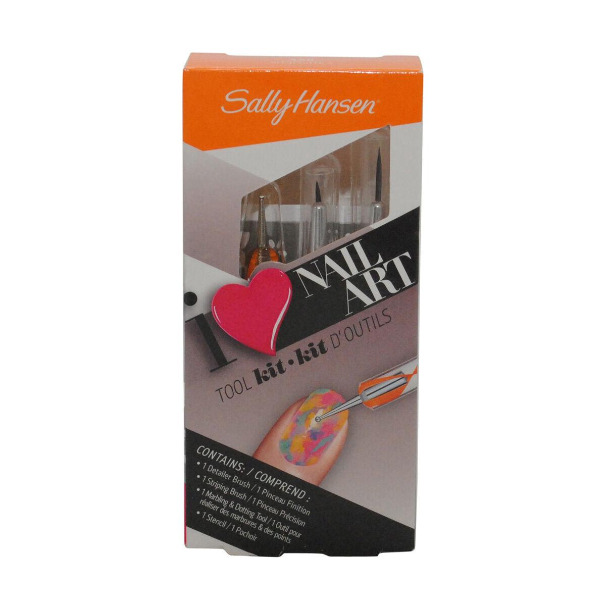 Sally Hansen Nail Art Tool Kit Tools 450 787461570623 | eBay