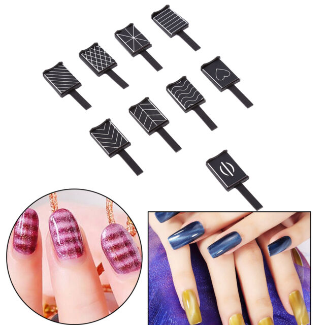 Magnetic Magnet Stick Pens for GEL Polish UV Nail Cat Eye Manicure ...