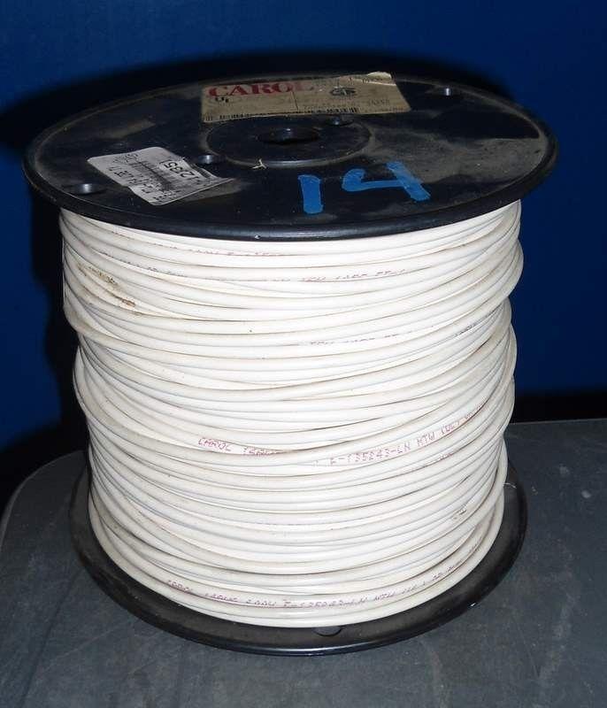 Carol 14 AWG Wire 600v E-135243-ln 500 FT | eBay