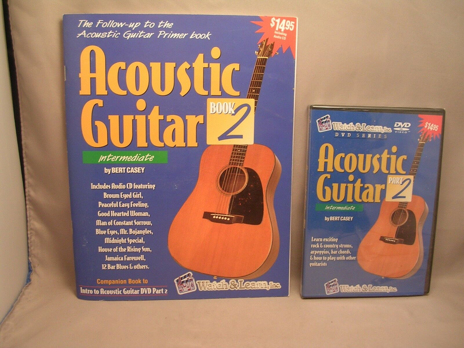 Learn How To Play Acoustic Guitar Lessons Book 2 For Intermediate
