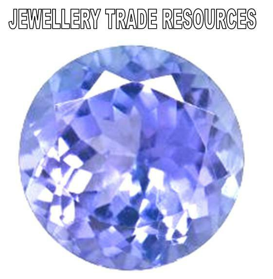 by cut bluish ct tanzanite round violet dyer products john purple