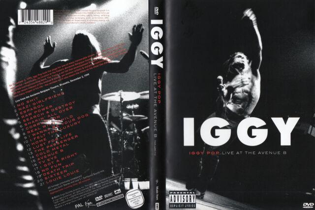 Iggy Pop - DVD - Live At The Avenue B Brüssel 1999 - DVD von 2005 - ! ! ! ! !