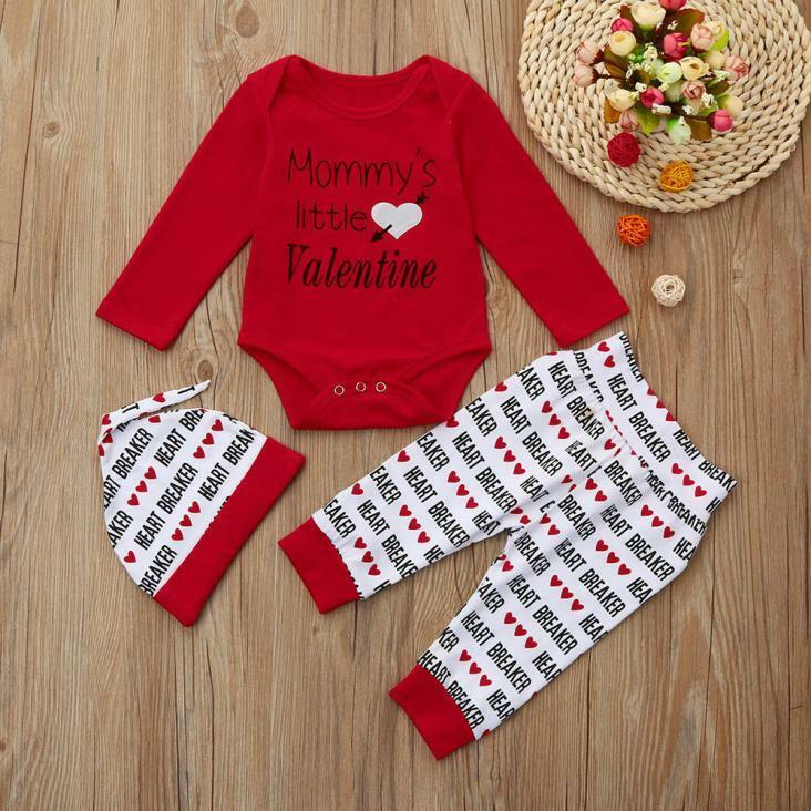 Picture 1 Of 8   Valentines Day Outfit Baby Boy