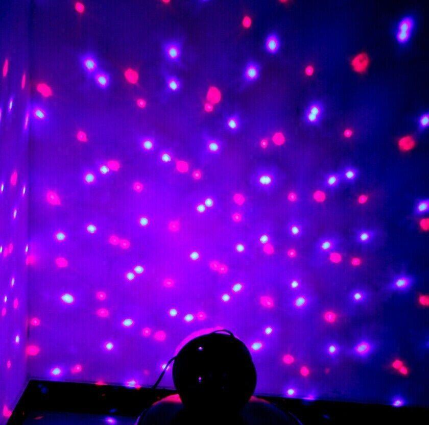 7  sc 1 st  eBay & Disco DJ Stage Lighting RGB Crystal Magic Ball Effect Light Dmx512 ... azcodes.com