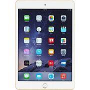 Apple iPad mini 3 16GB, Wi Fi, 7.9in  Gold Tablet...