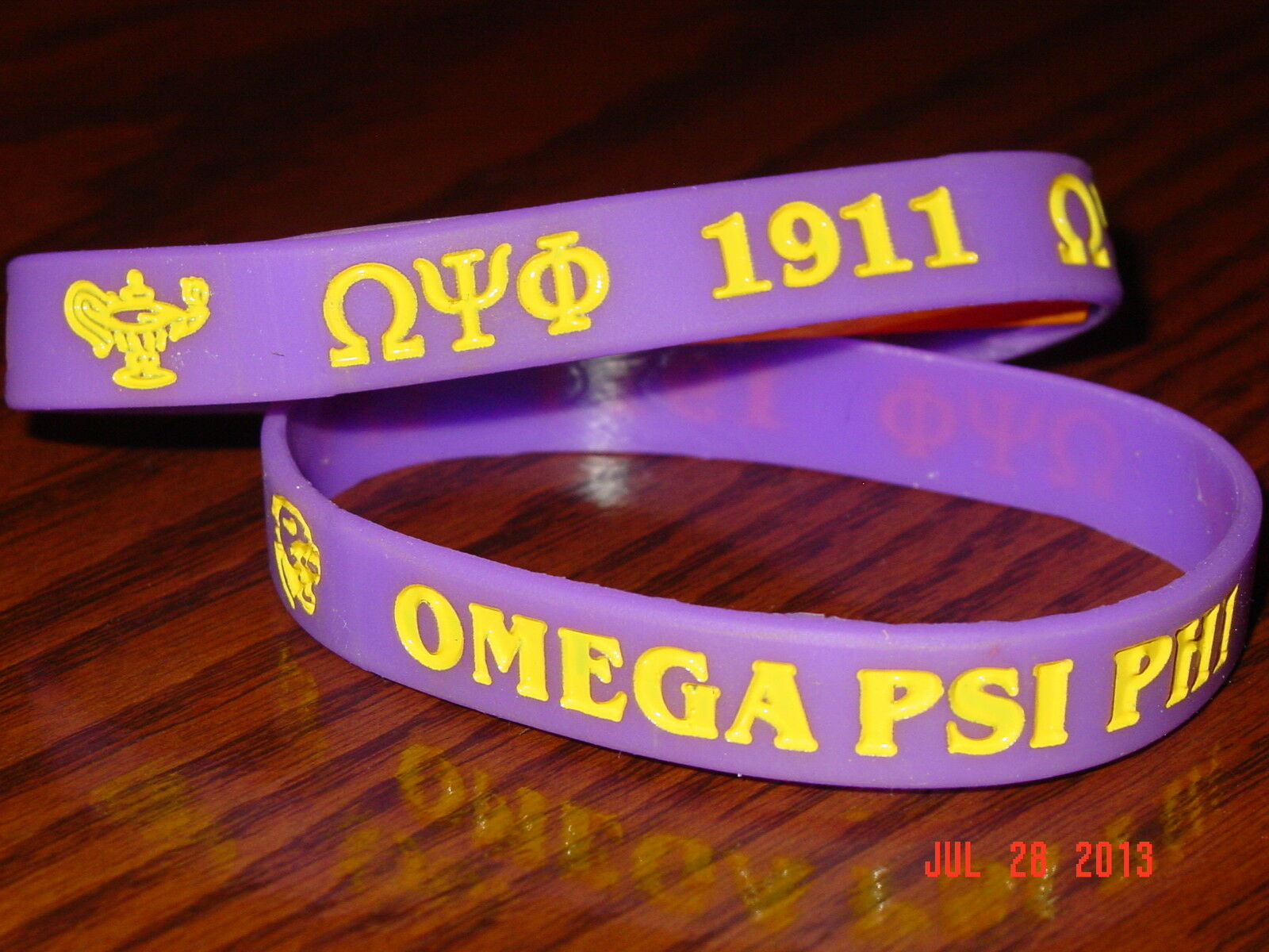 Omega psi phi fraternity ebay omega psi phi greek fraternity wristbands buycottarizona Image collections