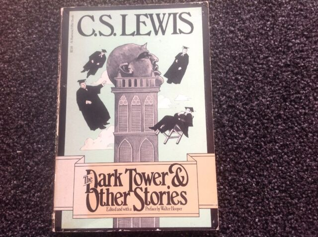 The Dark Tower and Other Stories by C. S Lewis Vintage 1977 1st American ed RARE