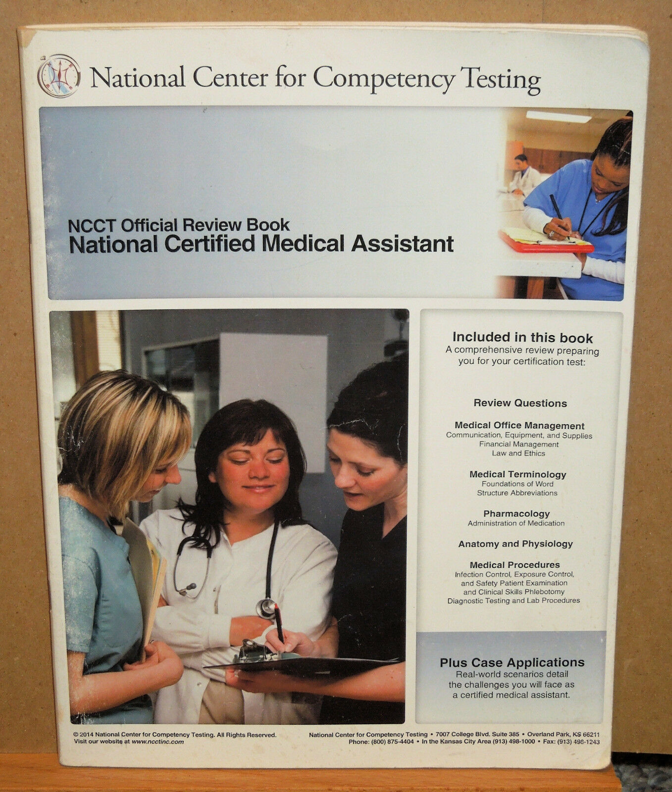 National certified medical assistant ncct official review book national certified medical assistant ncct official review book by national center for competency testing 2000 paperback ebay 1betcityfo Image collections