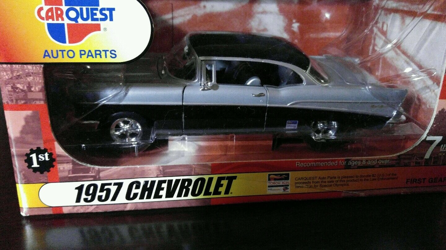 1957 Chevrolet Bel Aire 1 25th Scale First Gear CARQUEST Auto Parts ...