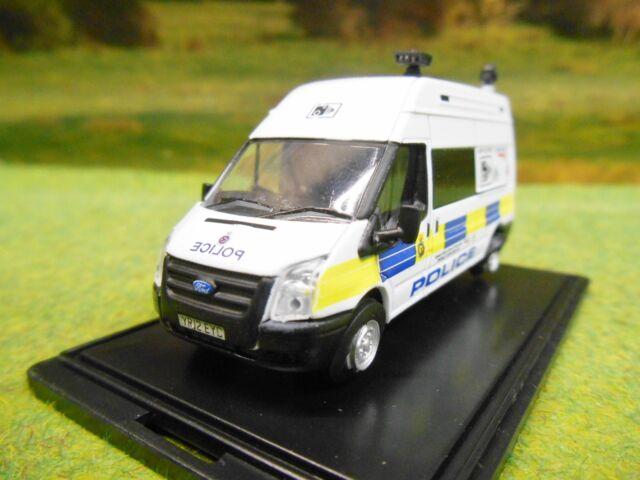 OXFORD NETWORK RAIL POLICE CAMERA LWB MK7 TRANSIT VAN 1/76 76FT026