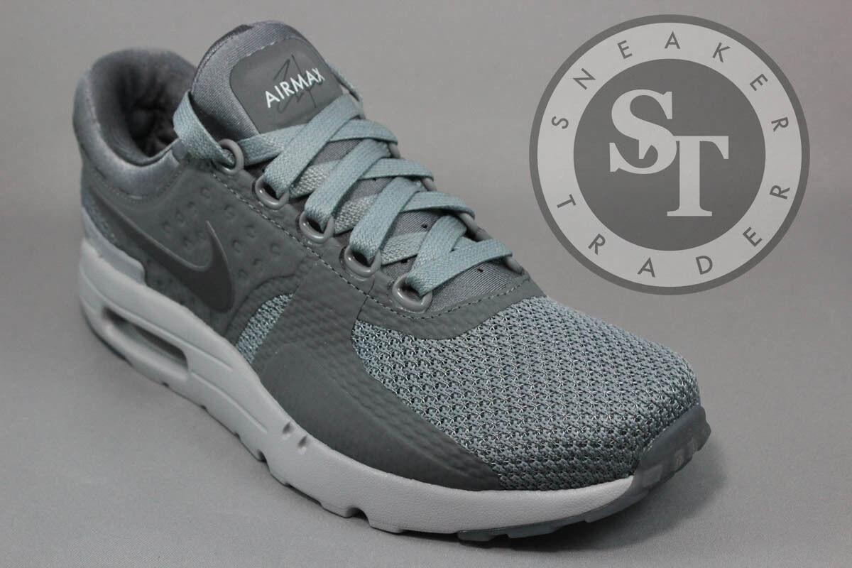 Nike Air Max Zero 0 QS Cool Grey / Dark Grey - Wolf 789695-003 Mens Sz. 9.5