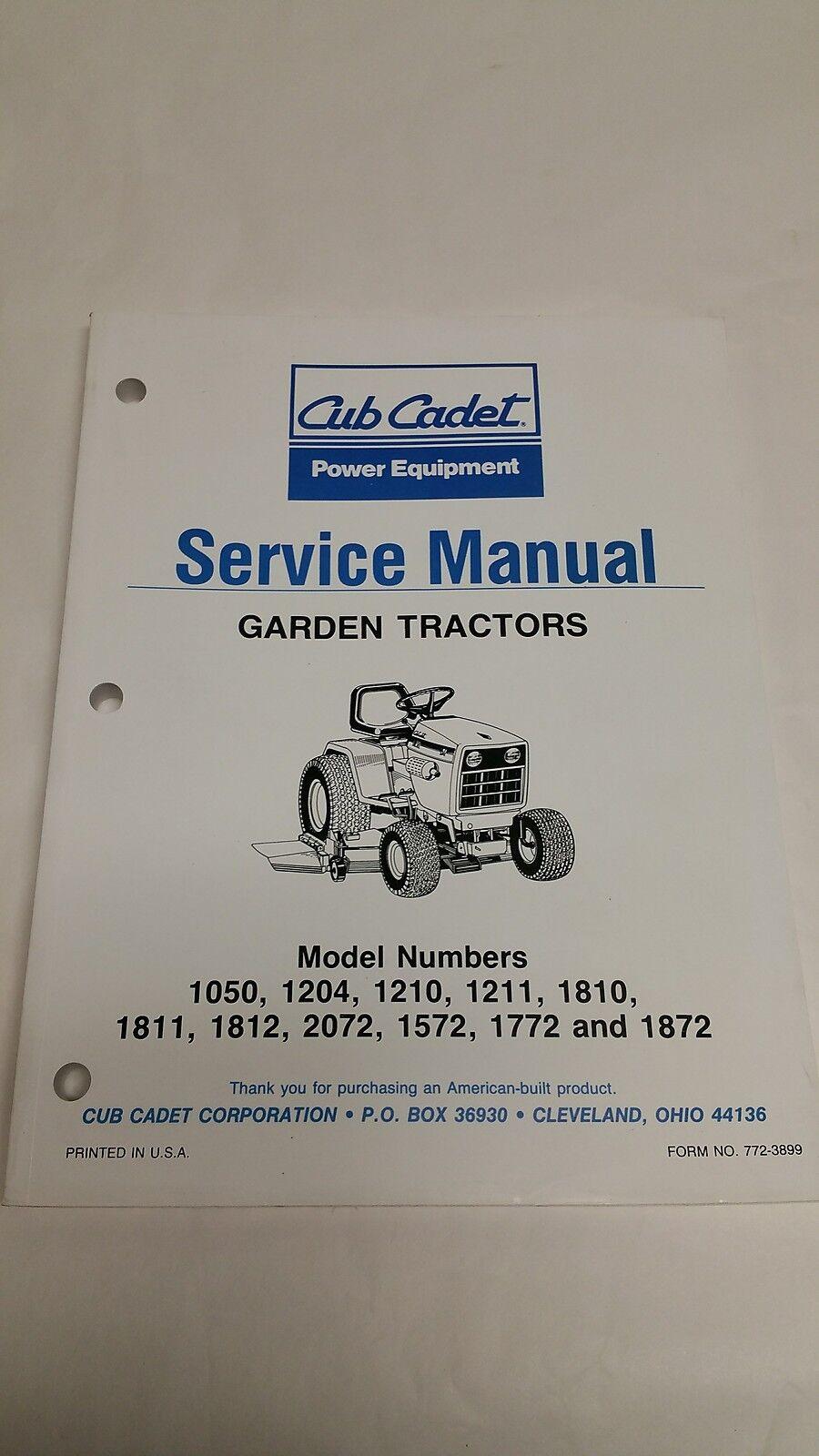 Cub Cadet 782 Manual Wiring Diagram Garden Tractor Service Ebay 900x1600