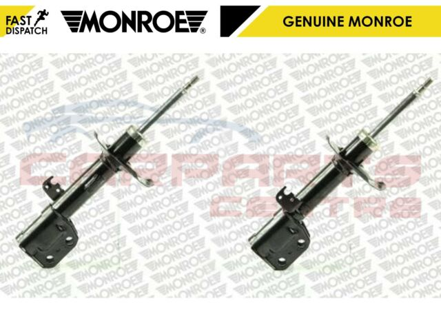 FOR TOYOTA AVENSIS 1.8 2.0 2.2 1.6 D4D VVTI FRONT MONROE SHOCKER ABSORBERS