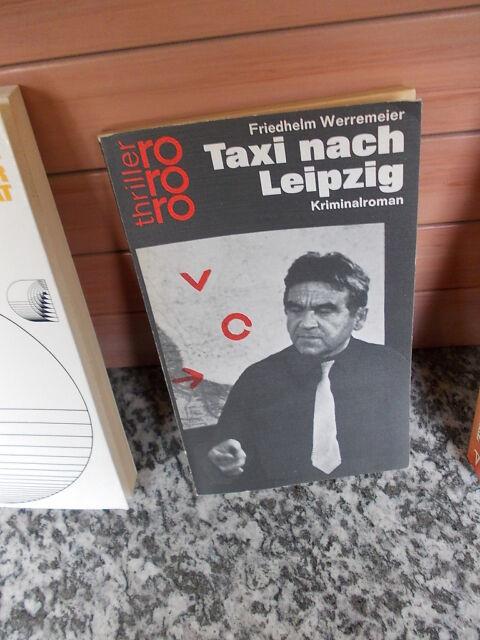 Taxi nach Leipzig, ein Kriminalroman von Friedhelm Werremeier