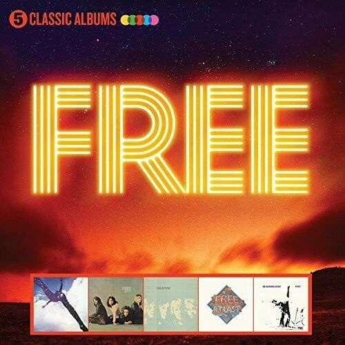 Free - 5 Classic Albums [New CD] UK - Import