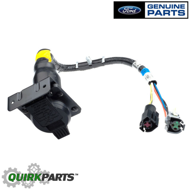 s l640 ford oem 7 pin connector trailer wiring harness feed f 6 tz 13 a 576