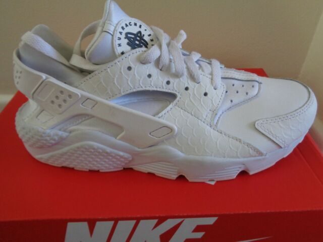Nike Air Huarache Run PRM ginnastica 704830 100 UK 7.5 EU 42 US 8.5 NUOVE