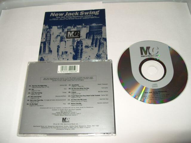 Mastercuts (New Jack Swing, Vol. 1, 1992) cd Ex Condition