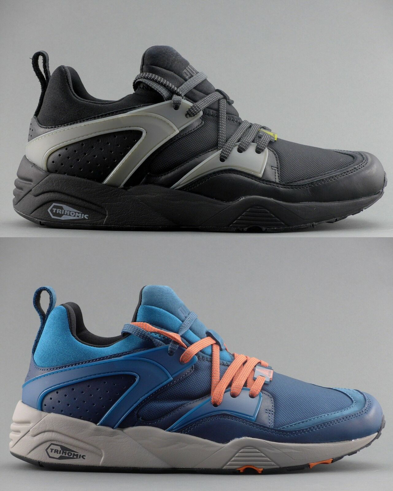 PUMA Blaze of Glory 358818 Leather Sneaker Scarpe Uomo 358818 Glory NUOVO 23199f