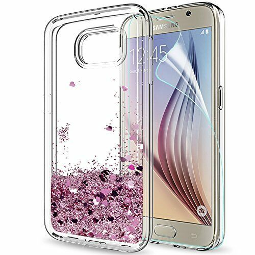 samsung s6 glitter phone case