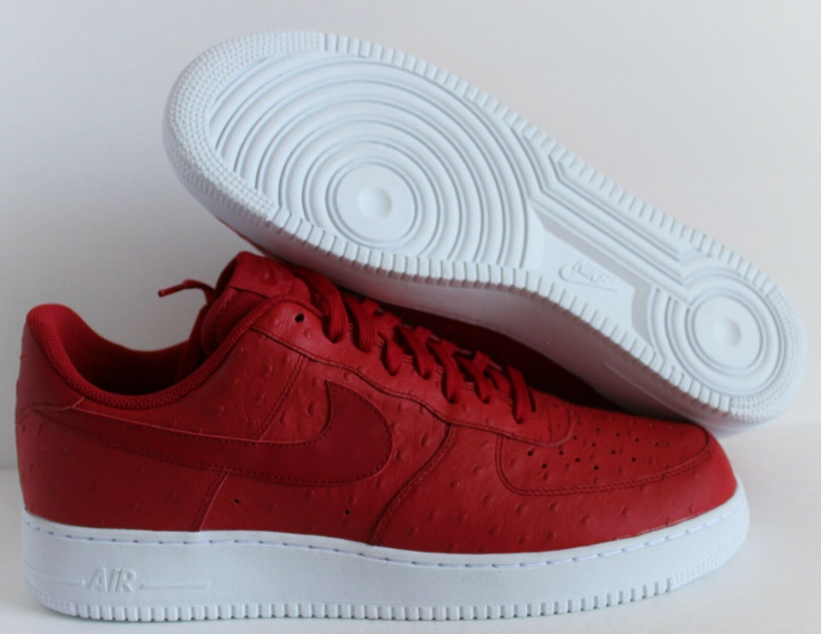 Nike Air Force 1 '07 Lv8 Ostrich Sz 11.5 718152 603 Gym Red Classic