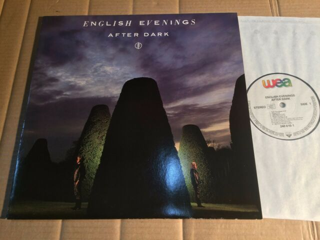 ENGLISH EVENINGS - AFTER DARK - LP - EUROPE / GERMANY 1985 (DI1440)