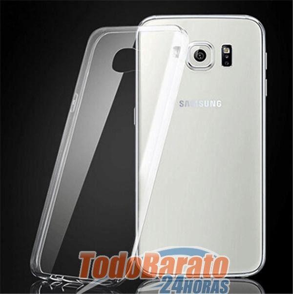 Funda TPU 100 % TRANSPARENTE PARA Samsung Galaxy S6 S6 EDGE G920 G925