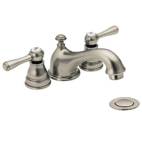 Moen T6103AN Kingsley Two-handle Low Arc Bathroom Faucet Antique | eBay