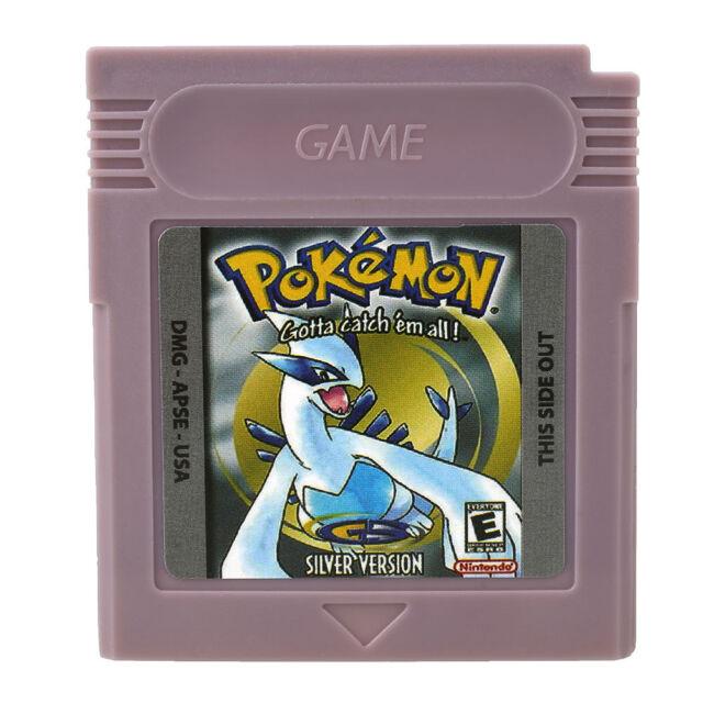 Pokemon Silver Version Game Boy Color Reproduction. Fastest USA shipping!