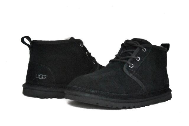 UGG Australia Men's Neumel 3236 Shoes Black Suede NEW Sz ...