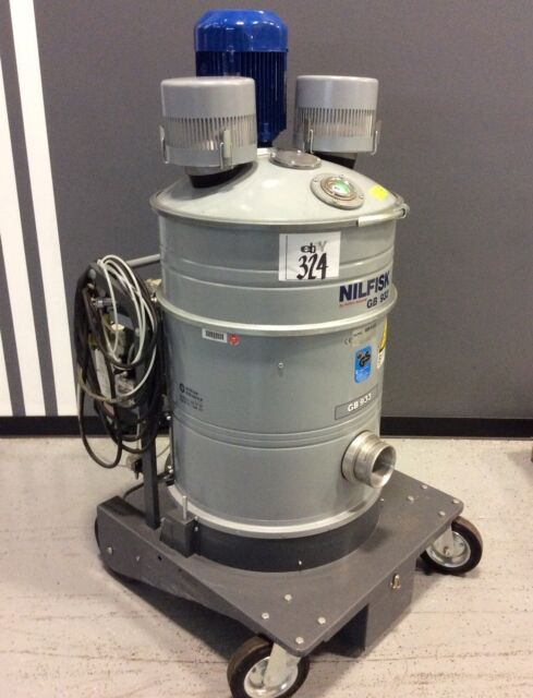 NILFISK GB933 INDUSTRIAL VACUUM CLEANER 55HP W TOSHIBA VFD