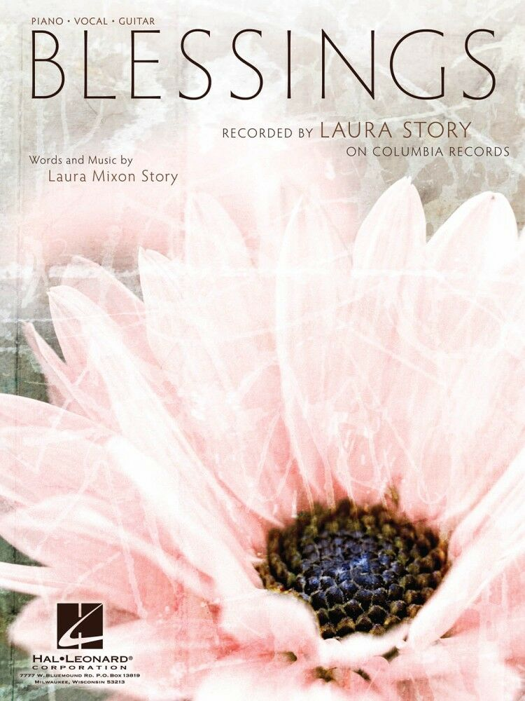 Blessings Song By Laura Story Piano Vocal Sheet Music Guitar Chords