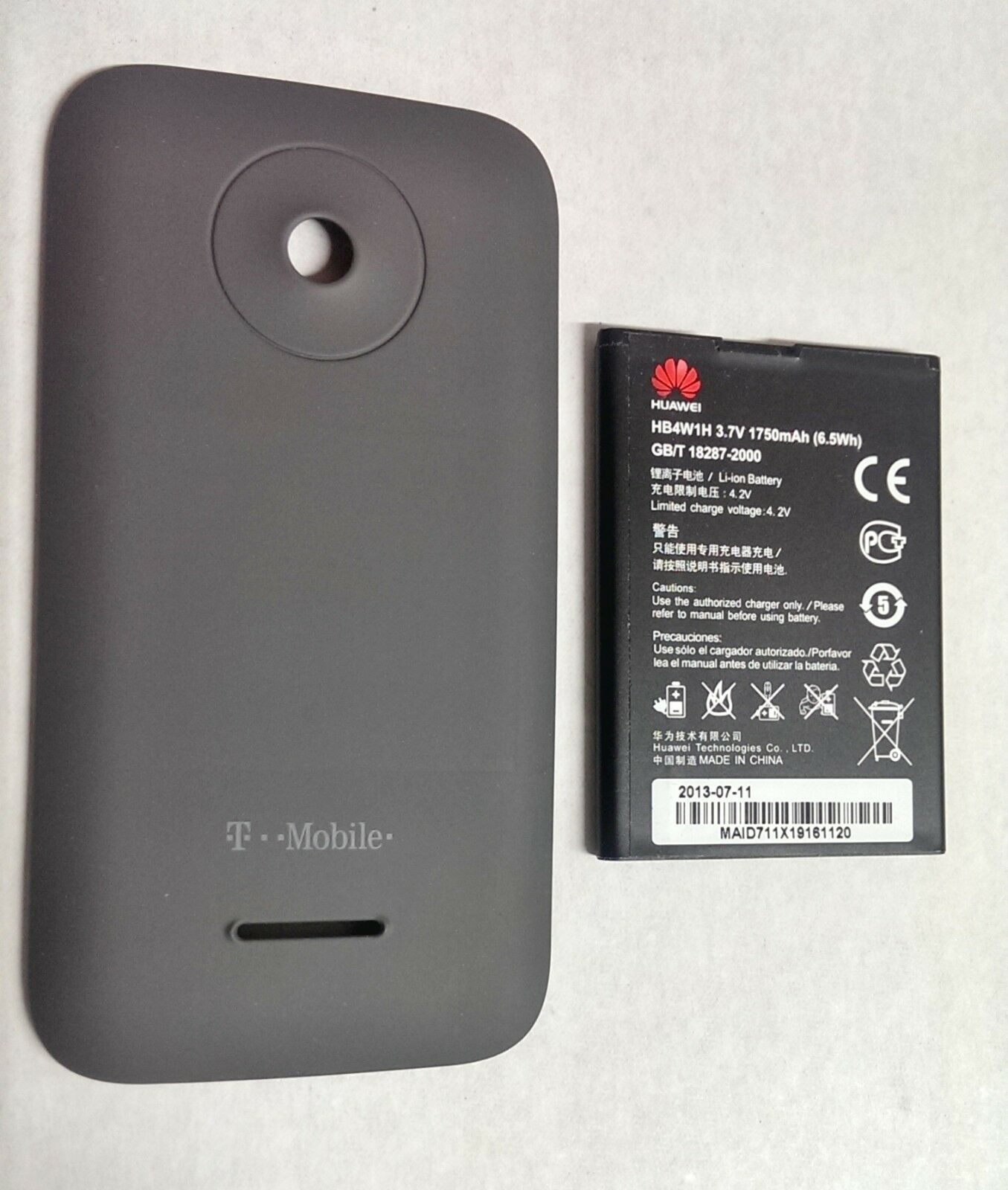 oem original huawei prism ii 2 back cover door t mobile u8686 rh ebay com T-Mobile Prism Specs T-Mobile Prism Accessories