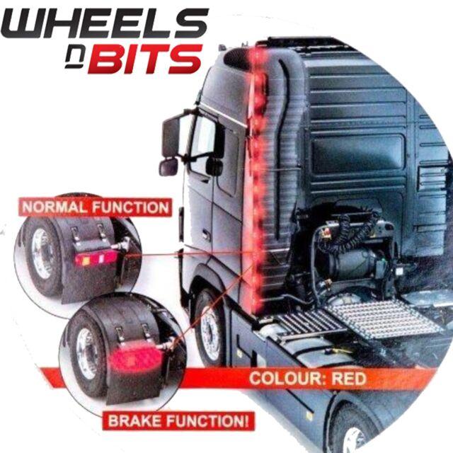 25m 24v led light strip wind breaker of tractor unit on hgv lorry truck