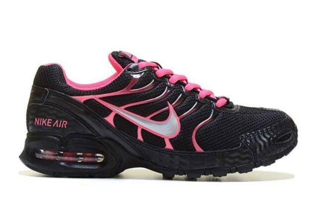 NIKE Max Air Max Torch 4 Running Shoes Womens Sz 7.5  Black/Pink/white