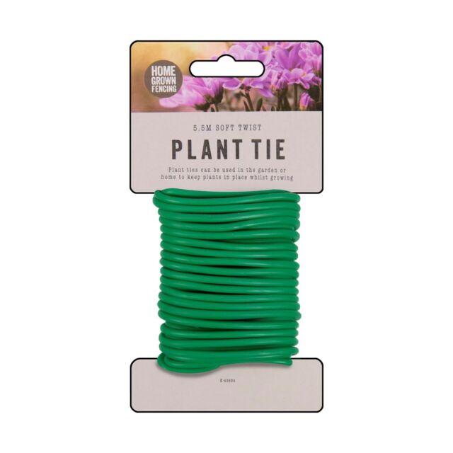 Soft Twist Plant Tie 5.5m garden,flowers plants horticulturist,grow landscape