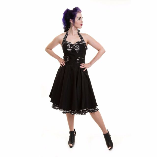 Rockabella Lilly Mary Dress Ladies Clearance 50s Vintage Bargain