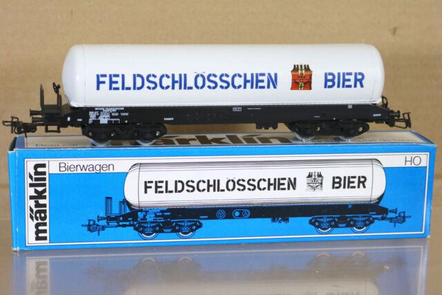 MÄRKLIN MÄRKLIN 4632 SBB CFF Feldschlösschen Bier Kesselwagen Bogie Tank Waggon