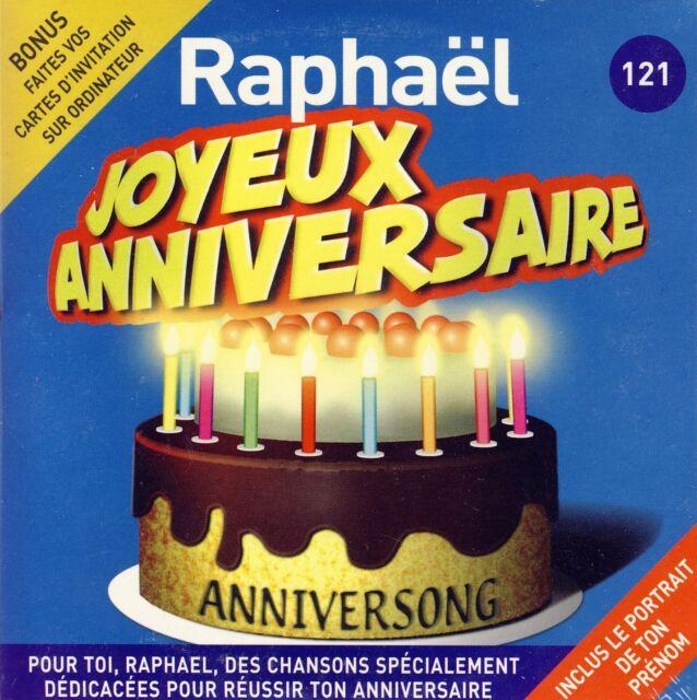 chanson anniversaire raphael