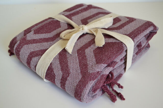 Maroon Red Purple Throw Blanket 40x40cm Soft 40 Cotton Chenille Cool Purple Chenille Throw Blanket