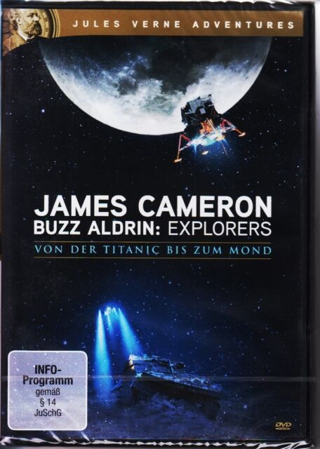 James Cameron & Buzz Aldrin - Explorers  DVD NEU