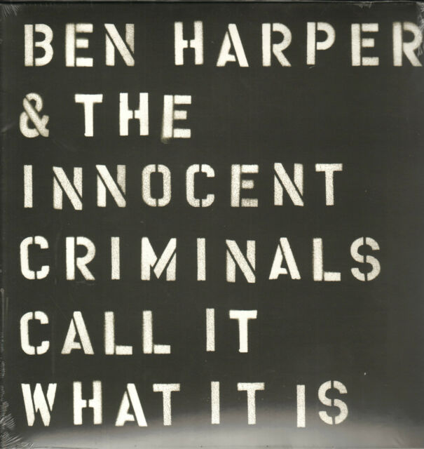 BEN HARPER & THE INNOCENT CRIMINALS - Call It What It Is   LP + MP3  !!! NEU !!!