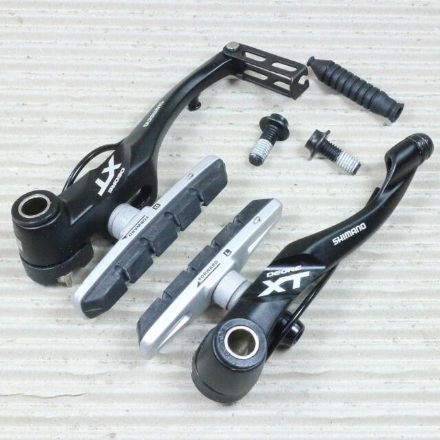 SHIMANO DEORE XT BR-T 780 V-BRAKE Vorderrad Bremse mit Bremsbelag - schwarz