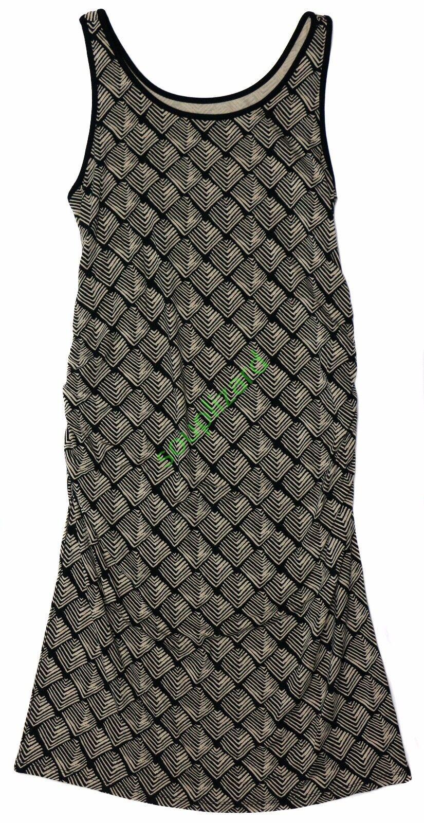 Liz lange maternity dress black tan rayon spandex medium ebay picture 1 of 6 ombrellifo Image collections