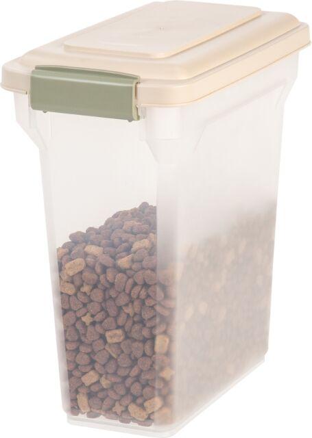 IRIS Premium Airtight Pet Dog Cat Food Fresh Storage Container 12lb