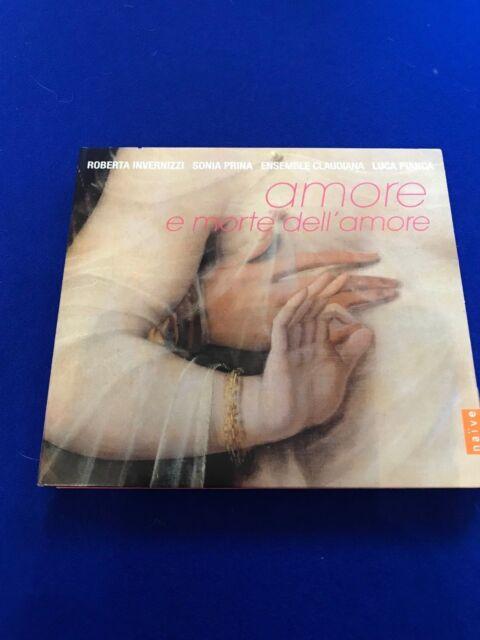 New upwrap Amore e Morte dell Amore (2017) CD Invernizzi Prina Claudiana Pianca