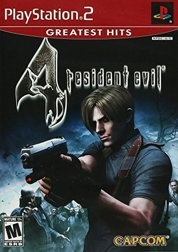 PLAYSTATION 2 PS2 RESIDENT EVIL 4 3D HORROR SHOOTER NEW